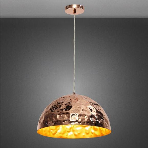 Hängeleuchte Kupari - Kupferfarben, Kunststoff/Metall (40/40/150cm) - MÖMAX modern living