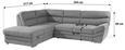 Sedežna Garnitura Victory - siva/krom, Konvencionalno, kovina/tekstil (217/264cm) - Premium Living