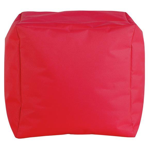 Tabure Cube S -sb- - rdeča, Moderno, tekstil (40/40/40cm) - Mömax modern living