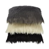 Zierkissen Molli in verschiedenen Farben - Schwarz/Weiß, Textil (40/40cm) - Modern Living
