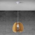 Hängeleuchte Simona - Beige/Naturfarben, MODERN, Holz (37cm) - Modern Living