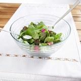 Salatschüssel mit Besteck Rösle - Klar, KONVENTIONELL, Glas (32/30/14cm) - RÖSLE