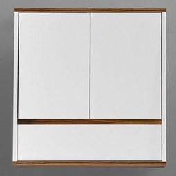 Hängeschrank Franca - Braun/Weiß, MODERN, Holz (60/62/19cm) - MÖMAX modern living