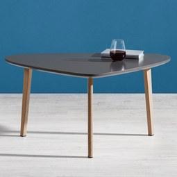 Couchtisch Kimi 90x60 cm - Naturfarben/Grau, MODERN, Holz/Metall (60/90/44,5cm) - Mömax modern living