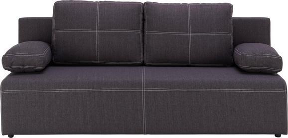 Sofa In Anthrazit - bijela/crna, KONVENTIONELL, tekstil/plastika (202/88/84cm) - Mömax modern living