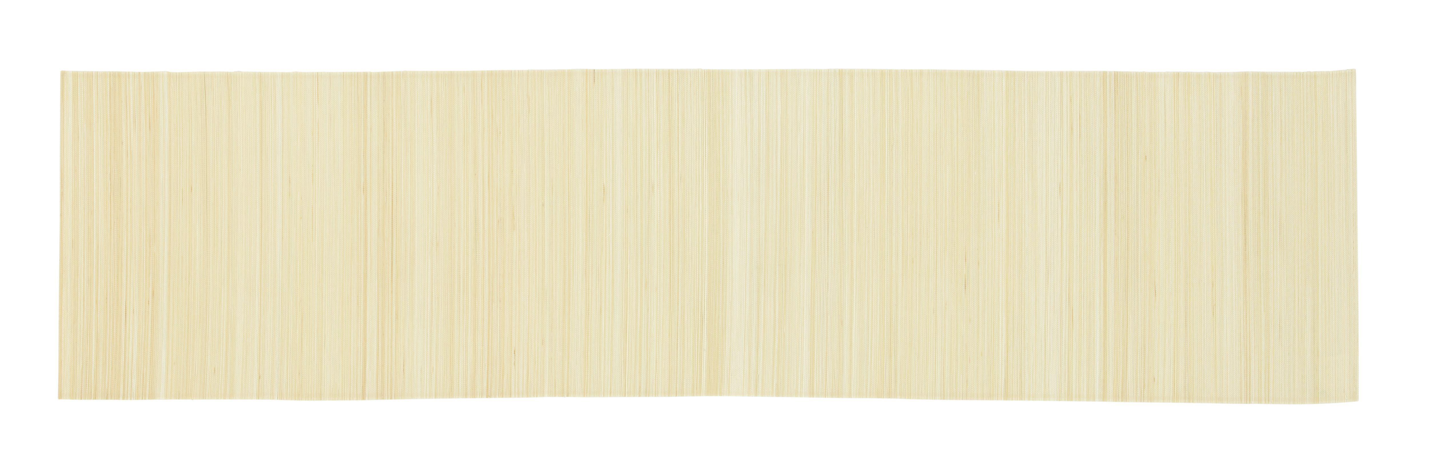 Asztali Futó Tokyo - fehér, további természetes anyagok (40/150cm) - MÖMAX modern living