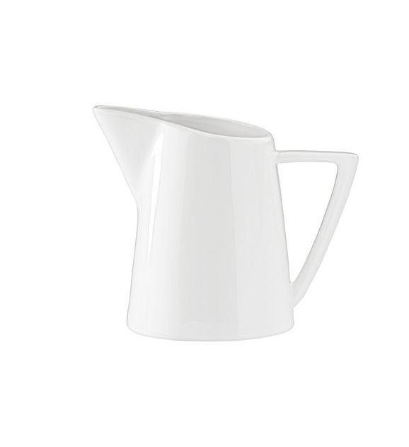 Milchkännchen Pura in Weiß - Weiß, LIFESTYLE, Keramik (7,5/10cm) - Premium Living