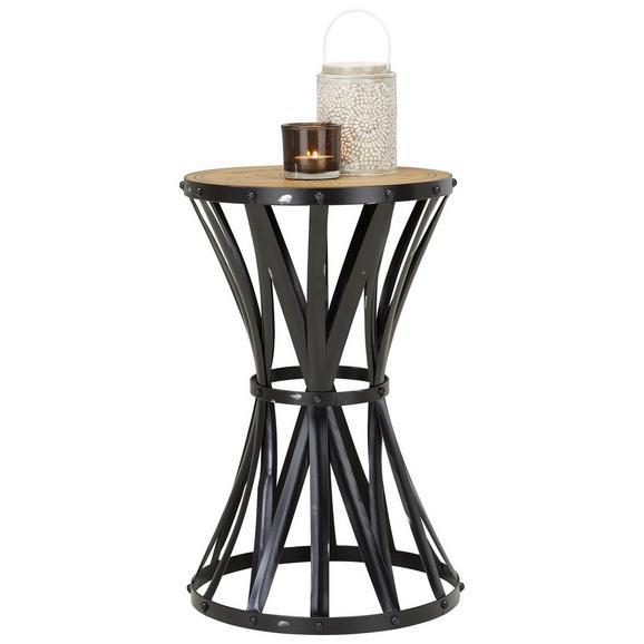 beistelltisch schwarz holzfarben online kaufen m max. Black Bedroom Furniture Sets. Home Design Ideas