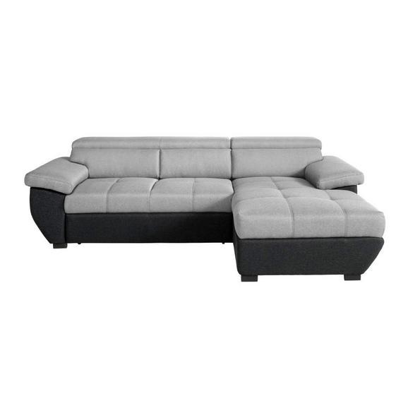 wohnlandschaft grau schwarz online kaufen m max. Black Bedroom Furniture Sets. Home Design Ideas