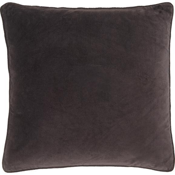 Pernă Decorativă Susan - negru, textil (60/60cm) - Modern Living