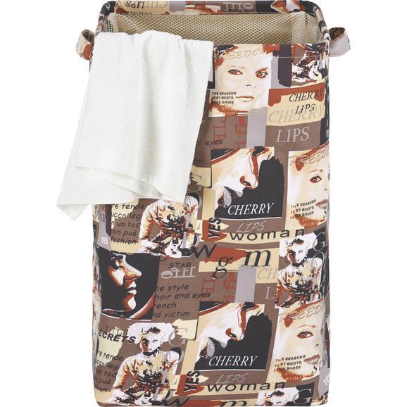 Koš Za Perilo Laundry 3 - tekstil (36/56/36cm)