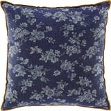 Kissen Milane 40x40cm - Blau/Braun, MODERN, Textil (40/40cm) - Modern Living