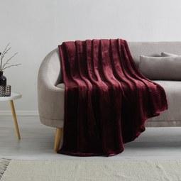 Kuscheldecke S'oliver 150x200 cm - Bordeaux, MODERN, Textil (150/200cm) - S. Oliver