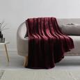 S'Oliver Kuscheldecke in Bordeaux ca. 150x200 cm - Bordeaux, MODERN, Textil (150/200cm) - S. Oliver