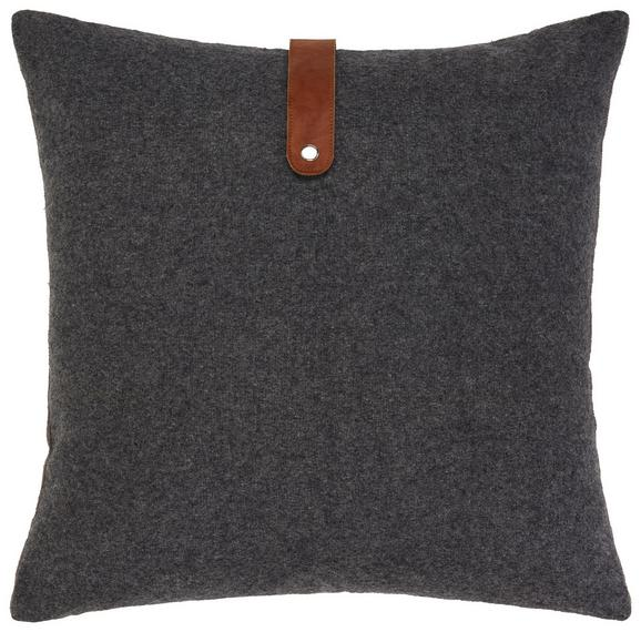 Zierkissen Sven Grau 45x45cm - Grau, MODERN, Textil (45/45cm) - Mömax modern living