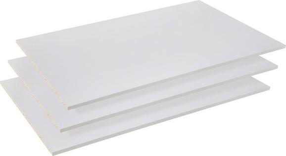 Einlegeboden Grau - Grau, Holz/Metall (83/42/1,5cm)