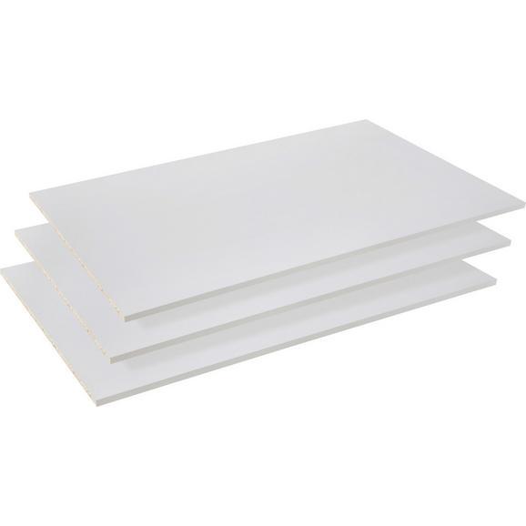 Einlegeboden in Grau 3er Set - Grau, Holzwerkstoff/Metall (83/42/1,5cm)