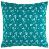 Zierkissen Lady Palms in Grün ca.45x45cm - Grün, LIFESTYLE, Textil (45/45cm) - Mömax modern living