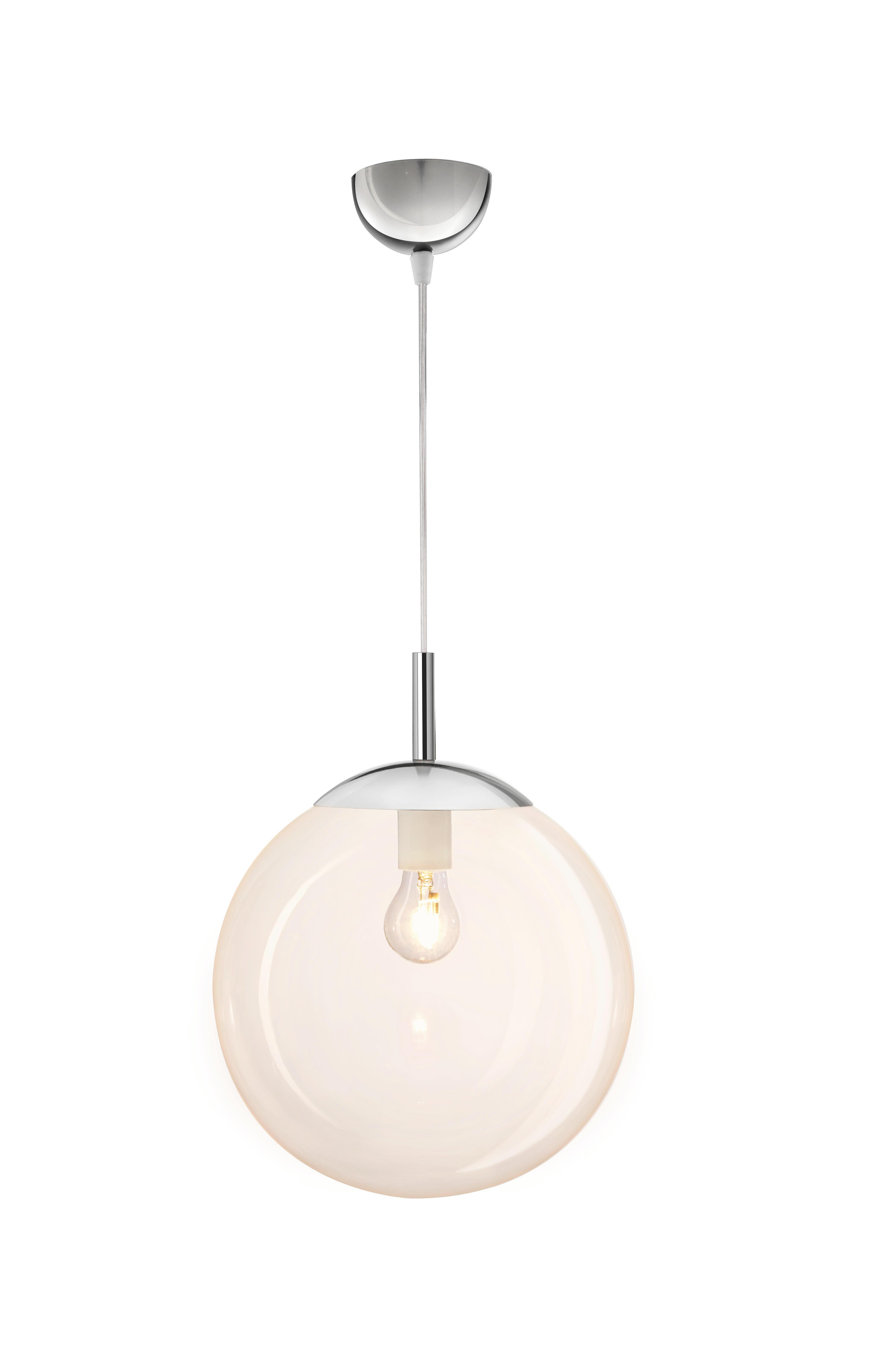 Hängeleuchte Enni, max. 60 Watt - Bernsteinfarben, KONVENTIONELL, Glas/Kunststoff (30/30cm) - MÖMAX modern living
