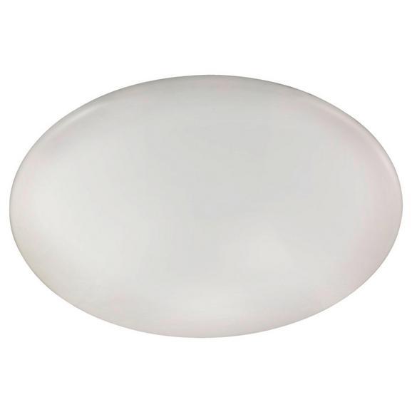 LED-Deckenleuchte max. 40 Watt 'Giron' - Weiß, MODERN, Kunststoff/Metall (57/7,5cm)