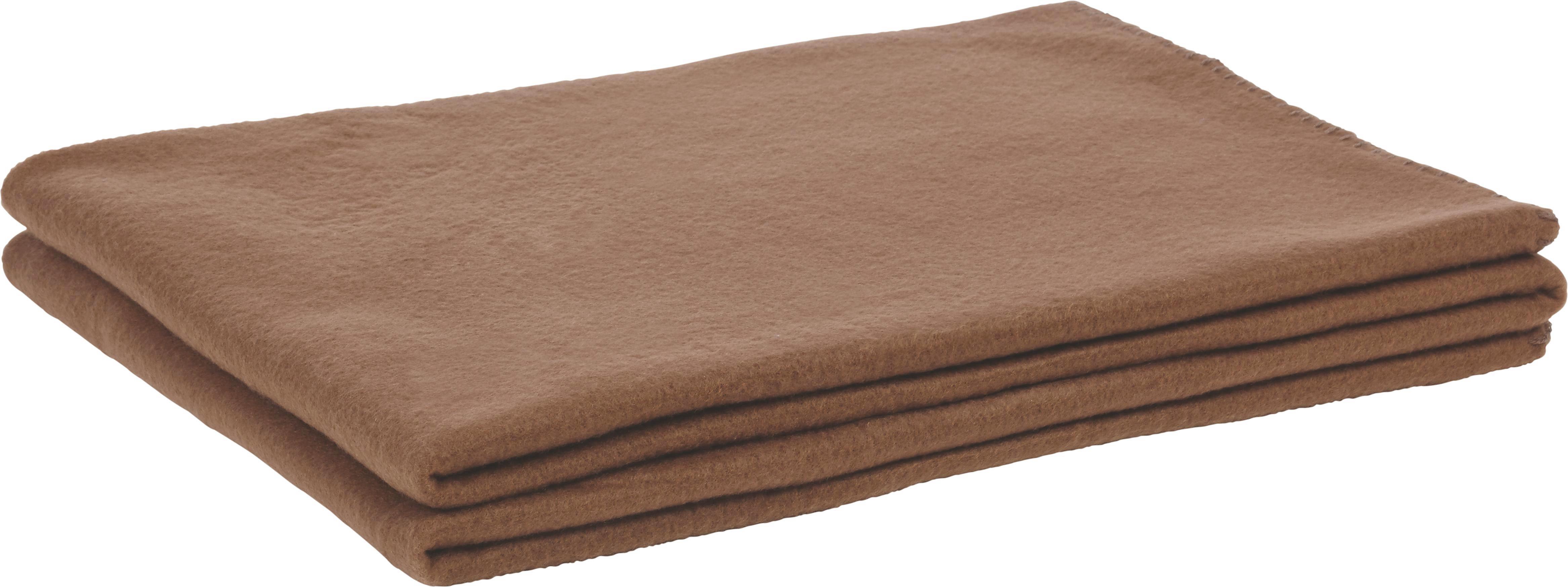 Fleecedecke Trendix in Braun - Braun, Textil (130/180cm) - MÖMAX modern living
