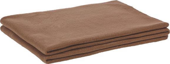 Polár Pléd Trendix - Barna, Textil (130/180cm) - Mömax modern living