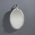Spiegel in Silber ca. 45/70/4,5 cm 'Kara' - Silberfarben/Grau, MODERN, Glas/Holzwerkstoff (45/70/4,5cm) - Bessagi Home