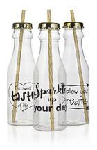 Trinkflasche Goldie In 3 Motiven - Goldfarben, MODERN, Kunststoff (7,2/26,5cm)