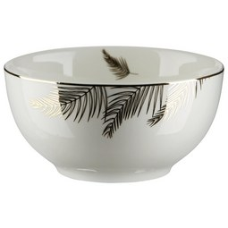 Skodelica Za Kosmiče Oro - zlata/bela, Trendi, keramika (14/7cm) - Mömax modern living