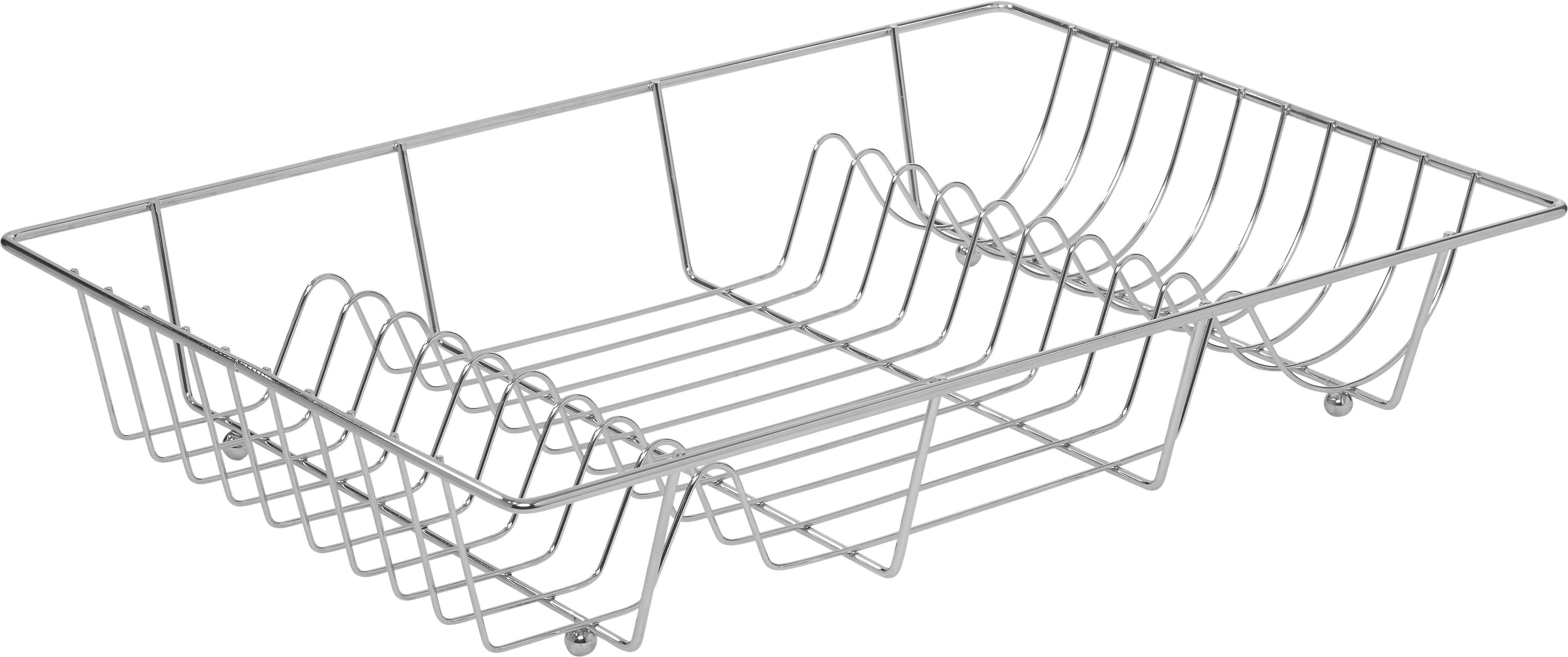 Edényszárító Kosár Fabi - krómszínű, konvencionális, fém (48/9/32,5cm) - MÖMAX modern living