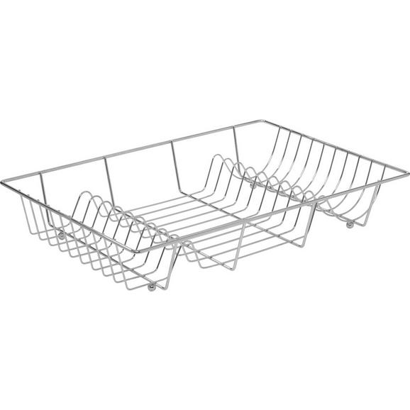 Geschirrabtropfkorb 'FABI' - Chromfarben, KONVENTIONELL, Metall (48/9/32,5cm) - Mömax modern living