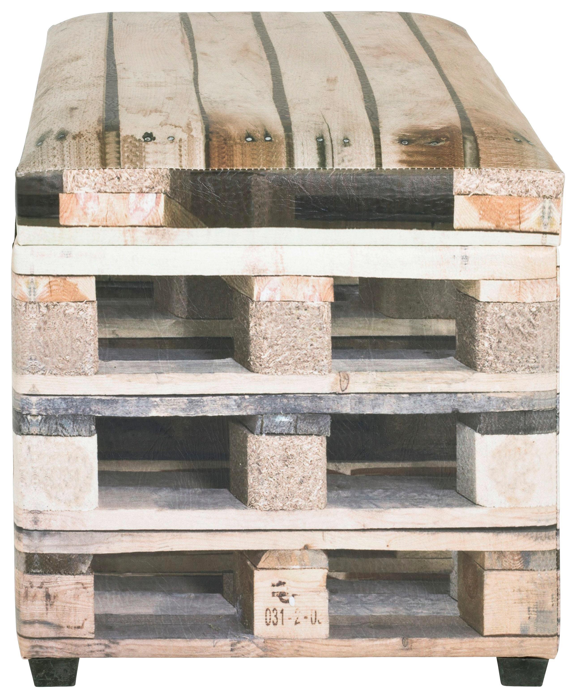 Sitzbox in Naturfarben - Naturfarben, MODERN, Holzwerkstoff/Kunststoff (65/42/40cm) - MÖMAX modern living