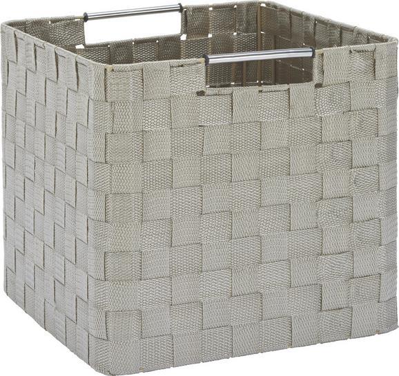 Košara Suse - M - krem, kovina/umetna masa (26/28,5/28,5cm) - Mömax modern living