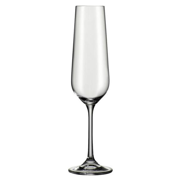 Sektglas Norma ca. 220ml - Klar, MODERN, Glas (0,22l) - Bohemia