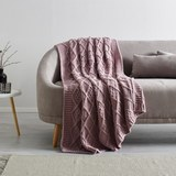 Kuscheldecke Rahel 130x170 cm - Rosa, MODERN, Textil (130/170cm) - Mömax modern living