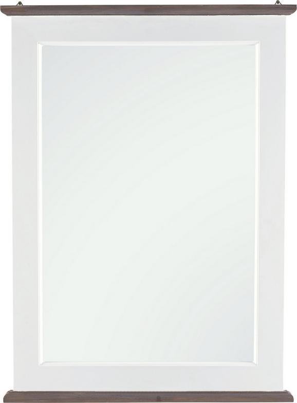 Spiegel Cookie - Weiß, Glas/Holz (59/80/3,5cm) - PREMIUM LIVING