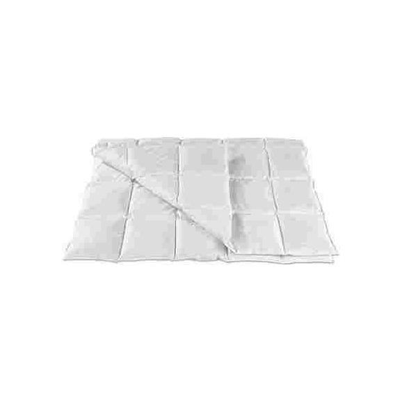 Plapumă Matlasată Fabi - alb, textil (140/200cm) - Nadana
