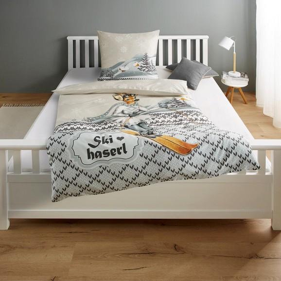 bettw sche skihaserl baumwollsatin 135x200 80x80cm online kaufen m max. Black Bedroom Furniture Sets. Home Design Ideas