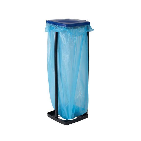 Müllsackständer Rudi - Blau/Rot, Kunststoff (87cm) - Mömax modern living