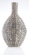 """Váza """"tobi"""" - barna/fekete, Lifestyle, további természetes anyagok/fém (32/60cm) - MÖMAX modern living"""