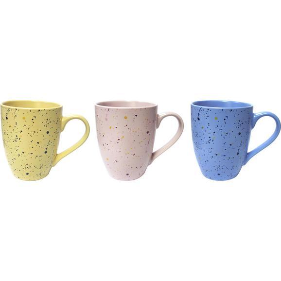 Cană Pentru Cafea Sprinkles - albastru/galben, Modern, ceramică (10/12cm) - Modern Living