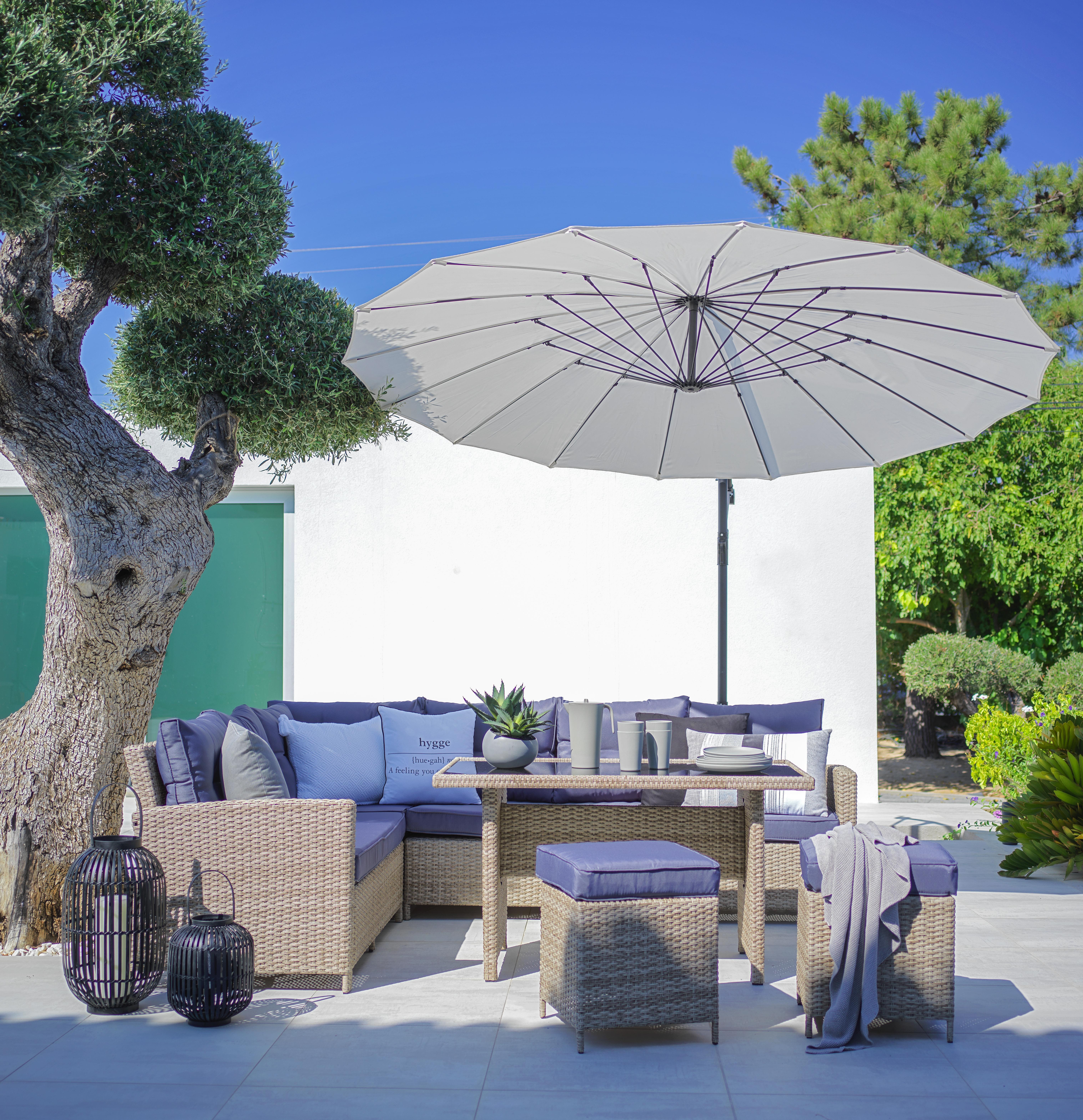 loungegarnitur san miguel hellbraun online kaufen m max. Black Bedroom Furniture Sets. Home Design Ideas