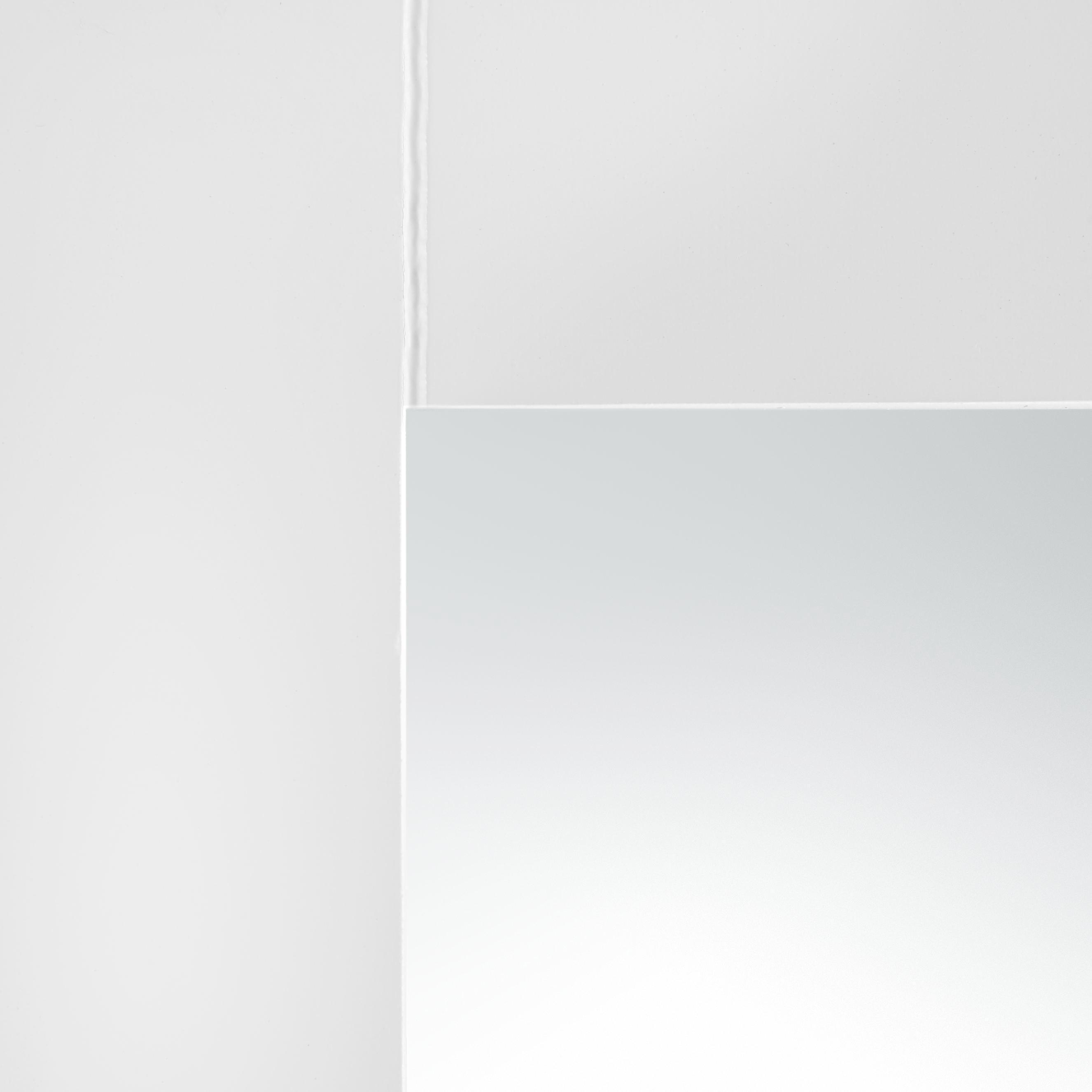 Spiegelschrank Bianca - Weiß, MODERN, Glas/Holz (34/53/15cm) - MÖMAX modern living