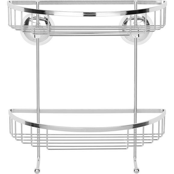 Kopalniški Regal Lennox - krom, kovina (24/25,50/14cm) - Mömax modern living