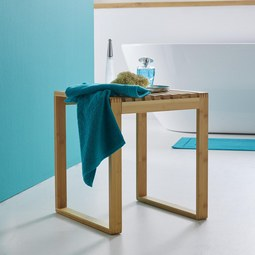 Hocker Mirella - Buchefarben, MODERN, Holz (40/45/40cm) - Mömax modern living