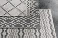 Ravno Tkana Preproga Edgar 2 - srebrna/krem, Moderno, tekstil (100/150cm) - Mömax modern living