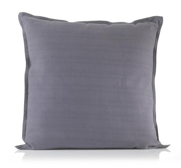 Díszpárna Solid One - Antracit, Textil (40/40cm)