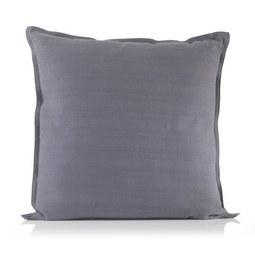 Zierkissen Solid One, ca. 40x40cm - Anthrazit, Textil (40/40cm)