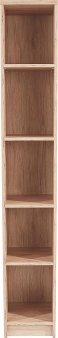 Regal 4-you Yur06 - hrast, leseni material (30/189,5/34,6cm) - Mömax modern living