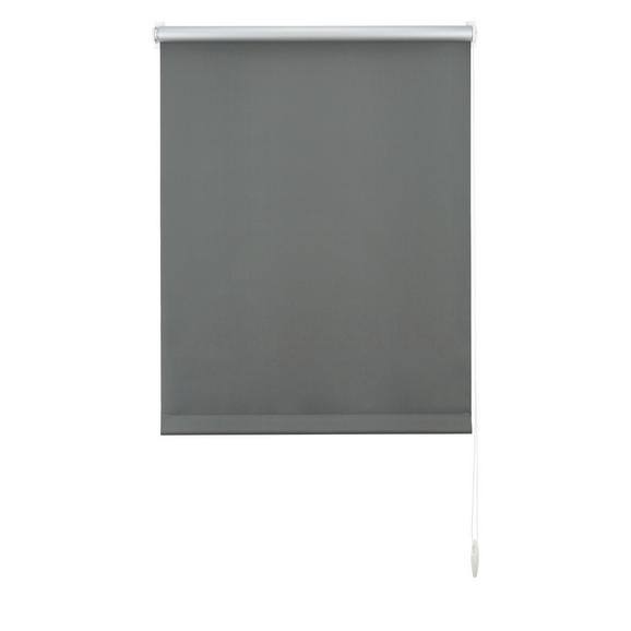 Klemmrollo Thermo ca. 45x150cm - Schieferfarben, Textil (45/150cm) - Premium Living